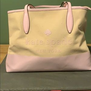 Kate Spade canvas bag brand new never used!